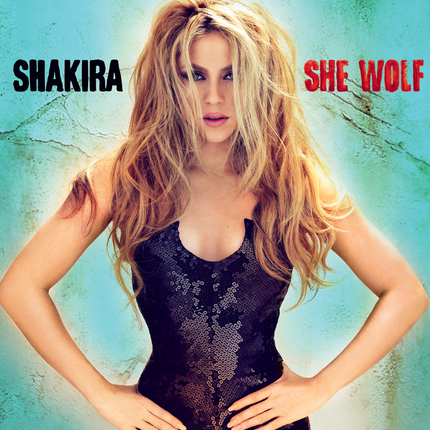 shakira album she wolf. The amazing new album was
